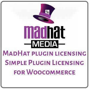 MadHat plugin licensing - Simple Plugin Licensing for Woocommerce